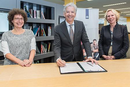 Ondertekening Convenant Ministerie BKZ, KB en VOB/ Opening Digitaalhuis
